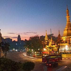 ヤンゴンはミャンマーの首都ではなかった
