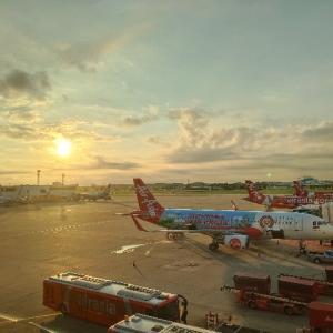 久しぶりのドンムアン空港