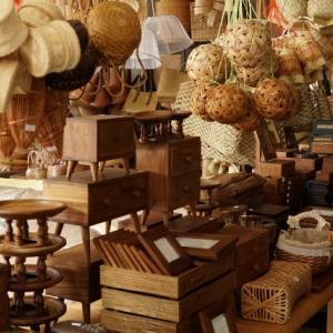 チェンマイ モン族市場とカゴ屋さん