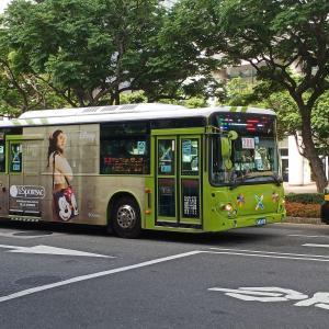 台湾 初めてバスに乗る