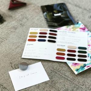 色見本帳の塗装工程について_質問を頂きました