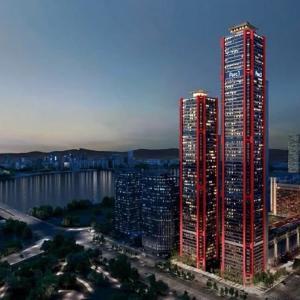 完成したヨイドの高層ビルの示すもの