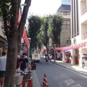 神楽坂の商店街