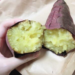 焼き芋&お好み焼き♡