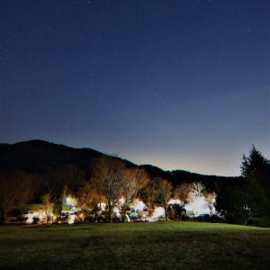 石岡市つくばねオートキャンプ場②静かな夜とJAXA編
