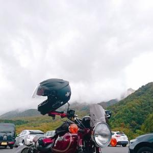 紅葉スポット🍁大山の鍵掛峠