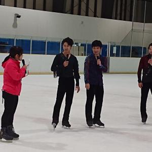 真央ちゃんのサンクスツアーメンバーによるスケートのイベントへ行ってきました♪