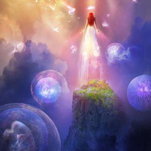今日もぼぅ~っとする✧愛の世界を生きる✧至福の中の聖女