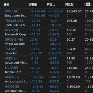 全株売却 ノーポジションに 2020.2.28