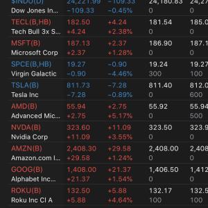 上がり続ける米国株を眺めるだけの日々 2020.5.12