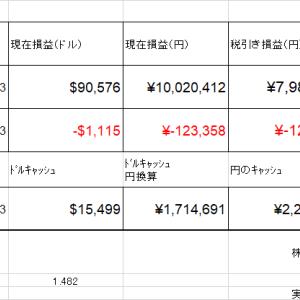 株口座資産更新 約4334万円 大きな調整はあるのか 2021.6.29