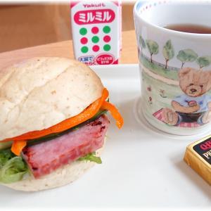 今日の朝ごはん。