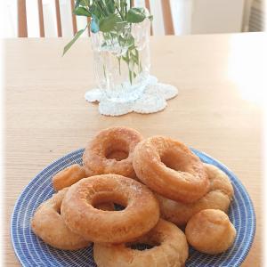 久々にドーナッツを作ってみた。