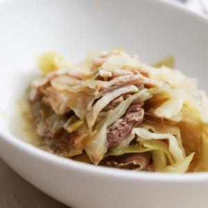 豚肉とキャベツのミルフィーユ煮込み