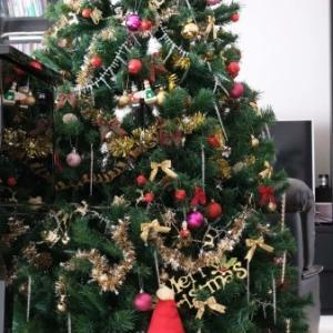 クリスマスのしつらい
