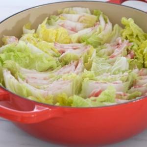 白菜と豚肉のミルフィーユ煮