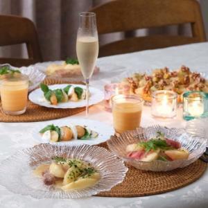 桃づくしの食卓♪