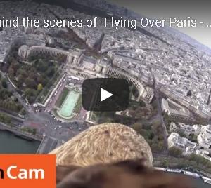 パリ上空を飛ぶ鷹の気分になる映像