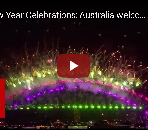 新年を迎えるオーストラリア・シドニー