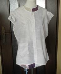 Yシャツからのリメイク