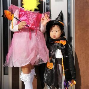 ハロウィンパレードと初面談!