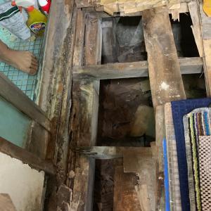「床の張替えなどの内装補修工事」
