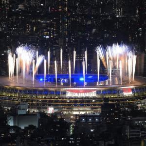 「東京オリンピック閉幕」