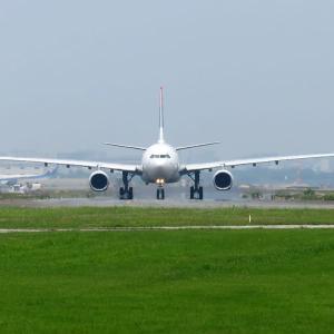 ネパール航空 A330 福岡空港