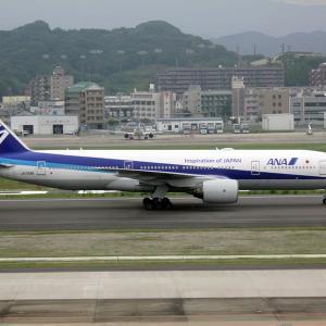 何時になったら飛べるのかなあ 福岡空港