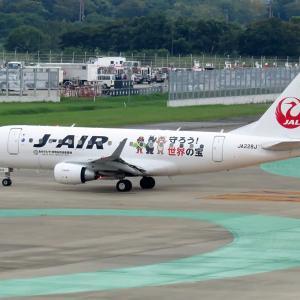 J-AIR 守ろう世界の宝 福岡空港