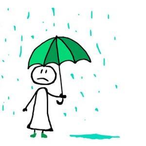 雨って何色?
