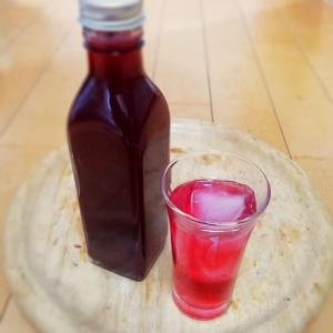 梅果汁/赤しそシロップ(ジュース)
