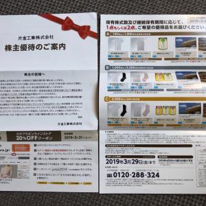 片倉工業の株主優待(コクーンシティで使える4000円分の商品券)有効期限迫る。
