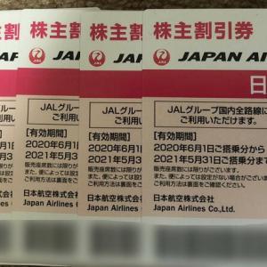 JALから6枚の優待券 嬉しくない