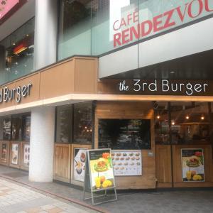 the 3rd burger でテイクアウト 旧優待券使用