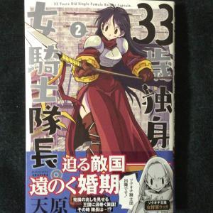 『33歳独身女騎士隊長。』2巻の感想。ストーリーも進みつつ、エロコメディも忘れないよ!