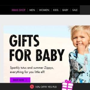 オーストラリアで人気の通販サイト(子供服、ベビー用品、子供用品)
