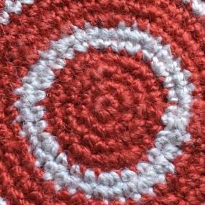 編み上がりました