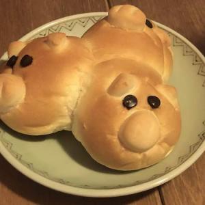 三びきのこぶたパン|ベーカリーフジヤ(町田市鶴川)