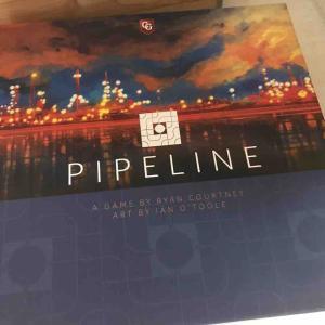 イアン・オトゥールによる美しいアートワークや石油会社を運営するテーマも魅力的な「パイプライン」を初プレイ!