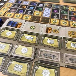 週末遊んだボードゲーム「ニュートン」「ロレンツォ」