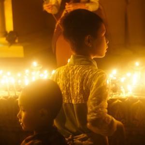 ダディンジュ祭り・シュエダゴンパゴダの夜