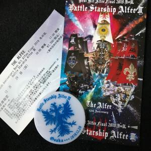 THE ALFEE  毎年恒例の大阪城ホール