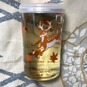 ★大阪「秋鹿 カップ酒」を呑みました。