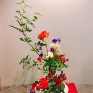 総務部より「9月 院内のお花」