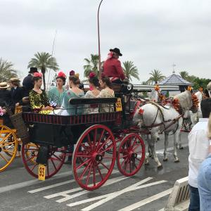 【スペイン】3大祭りのフェリア-Feria-がセビージャで始まったよ!街中が馬車だらけ!