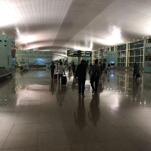 【スペイン】バルセロナ・エル・プラット国際空港で空港泊した話