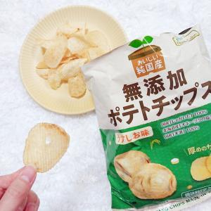純国産 ポテトチップス うすしお味