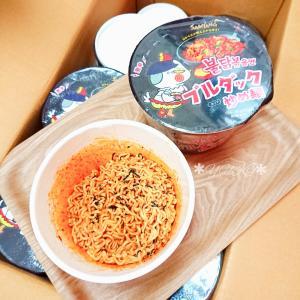 ブルダック炒め麺1ケース当選(∗ˊ꒵ˋ∗)♥️