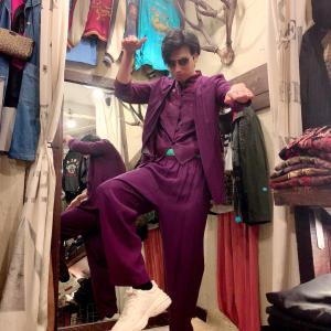 チャイナスーツ‼️買った 魅惑の古着屋の店長の秘密❤️